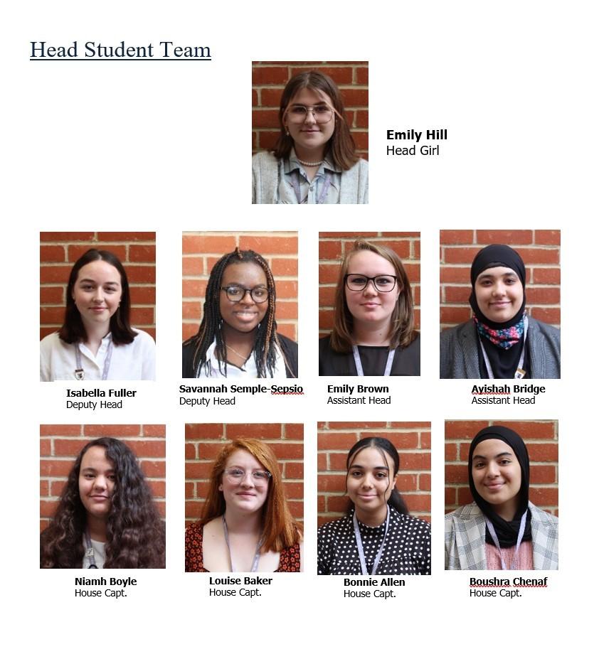 Head students 2020